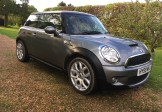 Mini 1.6CooperS 2009(59) 64900 miles FSH 6 speed half leather metallic dark grey