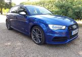 Audi S3 2.0 TFSI 296bhp Quattro Sportback June 2015 6 speed manual 1 owner FASH
