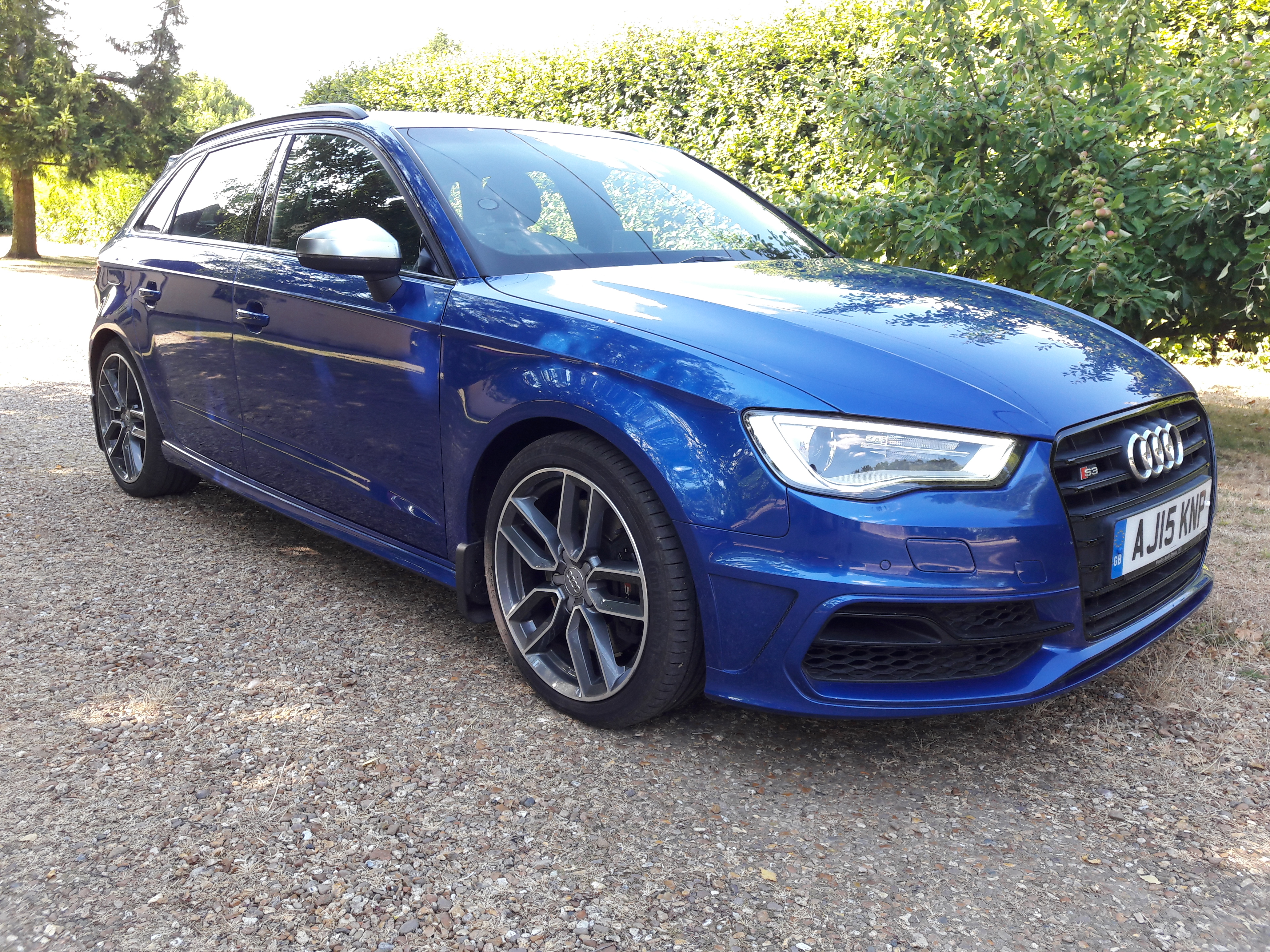 Audi S3 2.0 TFSI 296bhp Quattro Sportback June 2015 6 speed manual 1 owner FASH £20495