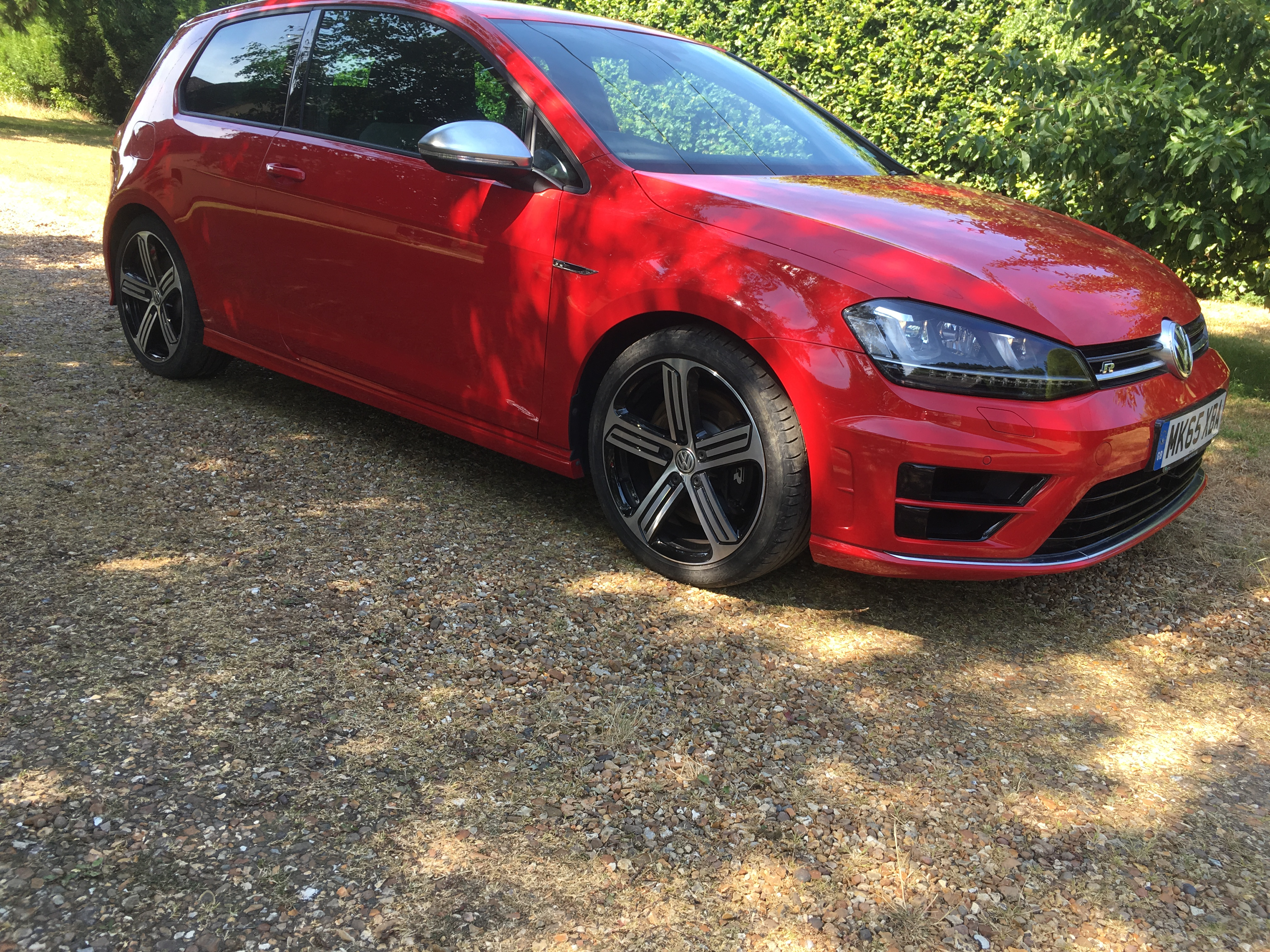 Volkswagen Golf R 2.0TSI 3dr 6 speed manual 296bhp 4wd Dec 2015 10K miles superb £20495