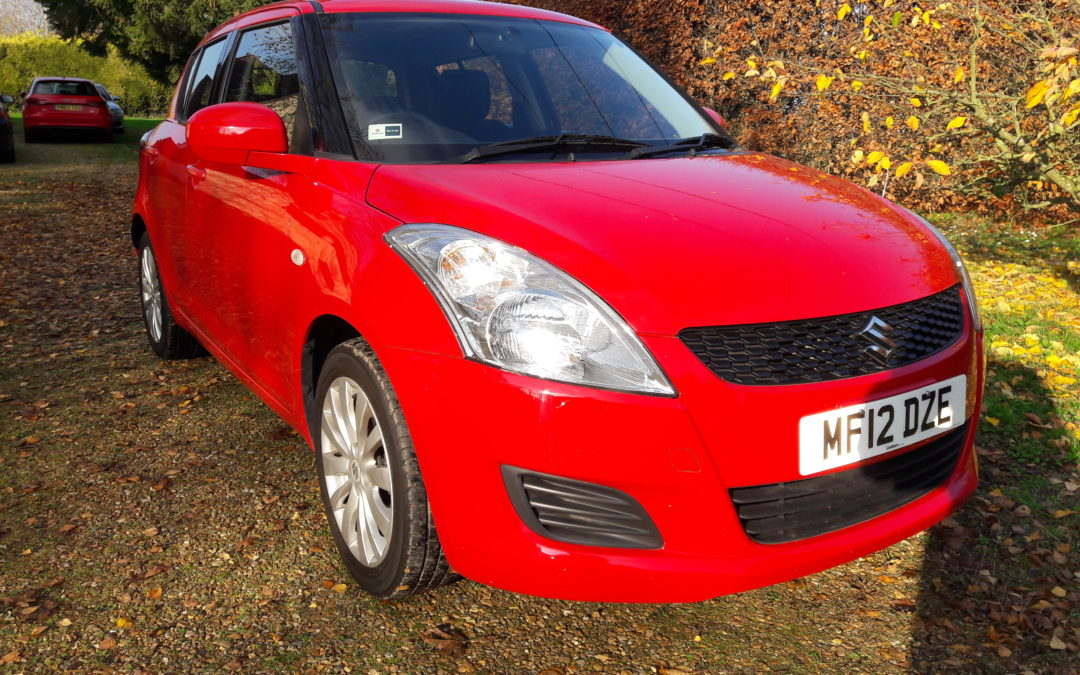 Suzuki Swift 2012 93bhp SZ3 5door/speed Manual 1.2L only 2 owners and 37K miles FSH £4995