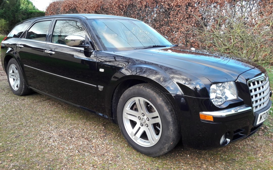 Chrysler 300C Touring 3.0CRD V6 auto 2008 only 49K, 2 owners FSH leather alloys £6995