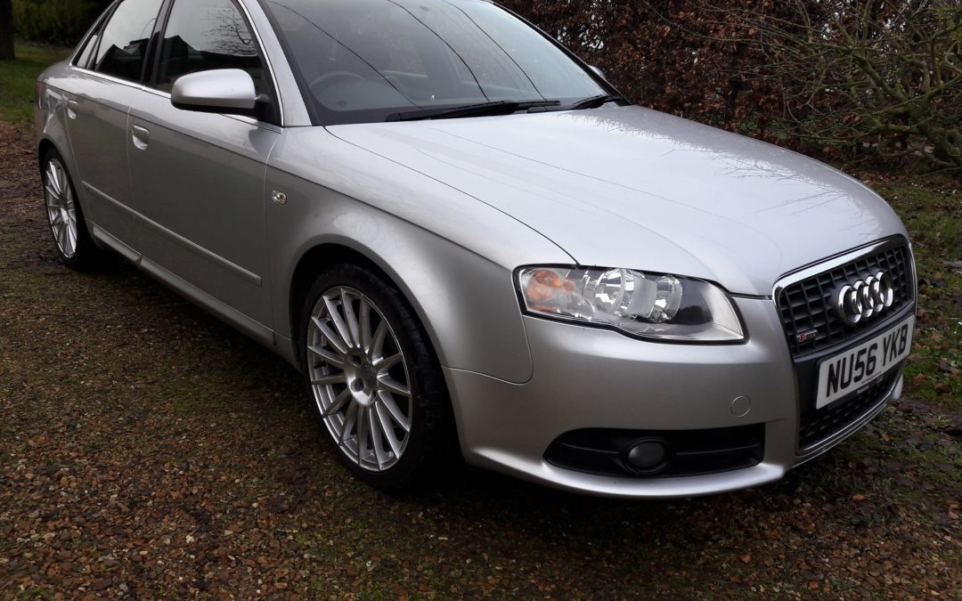 Audi A4 2.0T FSI SE S Line saloon 6 spd manual 2006 (56) 84K miles with FSH, leather £SOLD