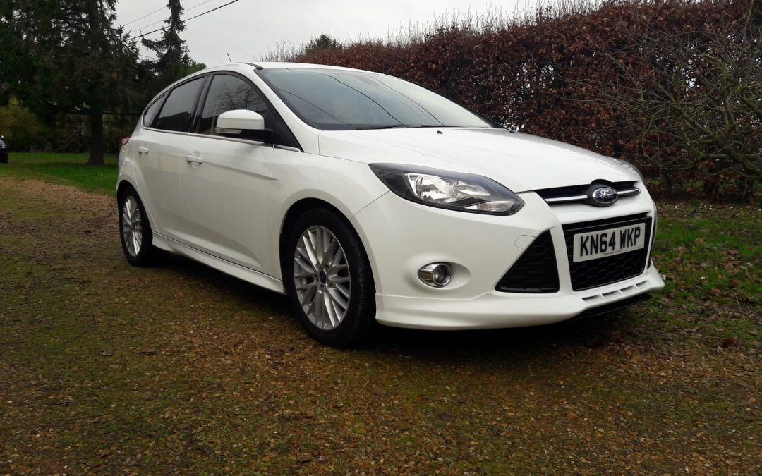 Ford Focus 1.6TDCi Zetec S 5DR 115bhp 2014 (64) 50K miles 6 speed manual 60+ mpg £7695