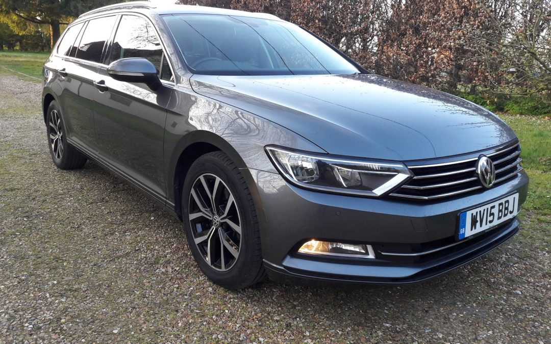 Volkswagen Passat Estate 2.0TDI SE Business April 2015, 6 Speed manual 150BHP 1 owner FVWSH £8495