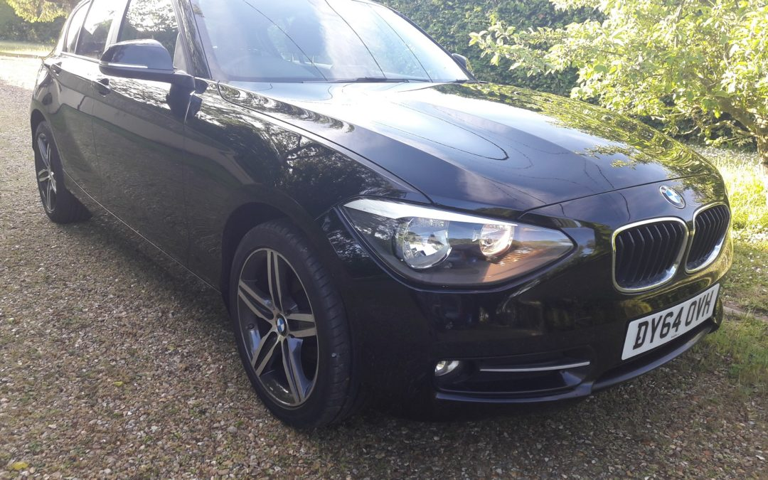 BMW 116 2.0TD Sports 2015 5 dr Hatch 6 speed manual BMW FSH 62K 60+mpg £30 RFL £8195