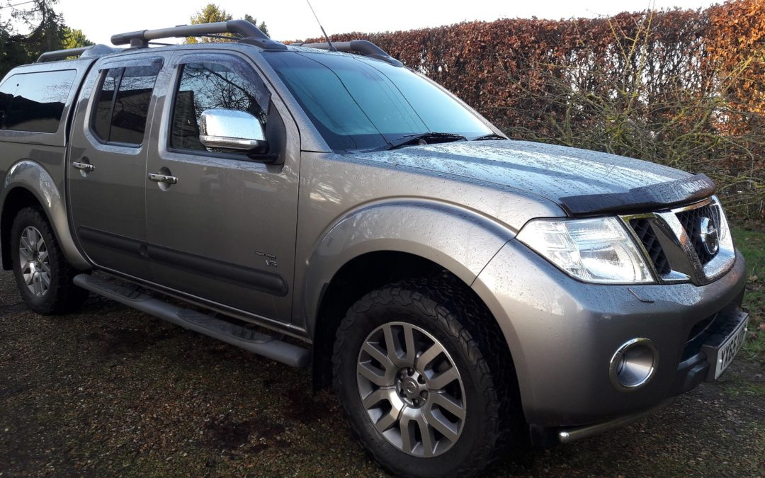 Nissan Navara 3.0dCi V6 Outlaw 7 speed automatic Double Cab Pickup 65 plate £SOLD