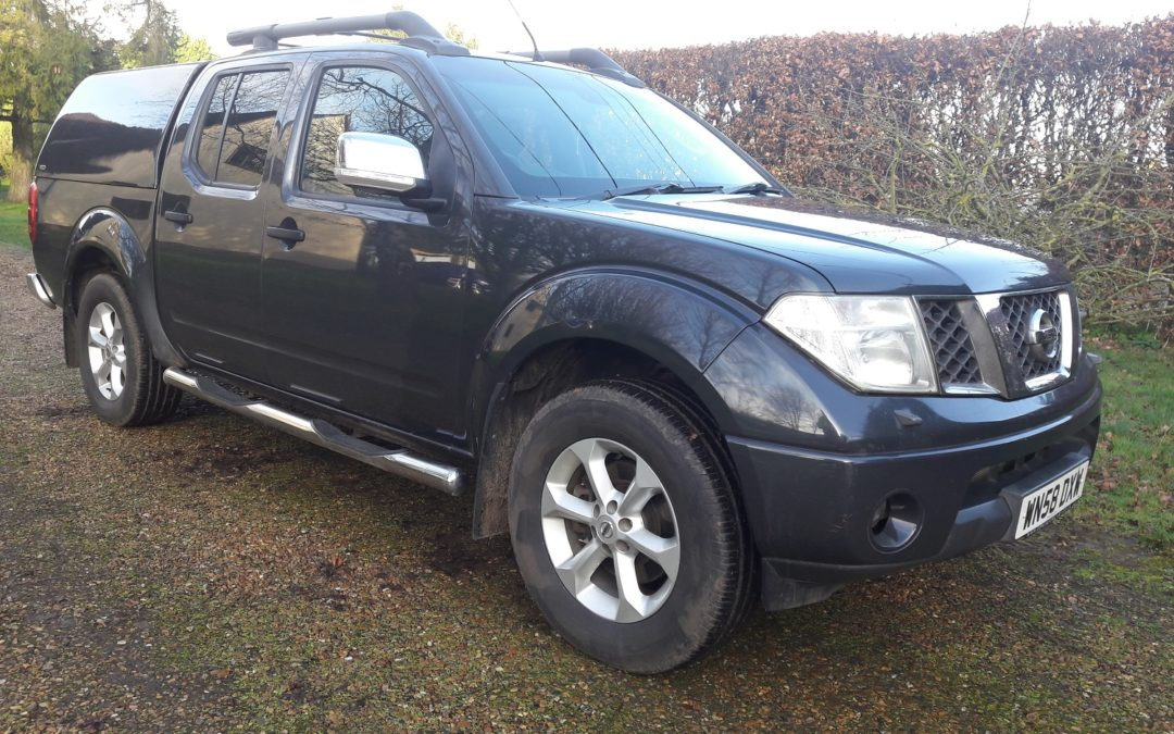 Nissan Navara 2.5dCi Outlaw automatic Double Cab Pickup £5495 + VAT = £6594