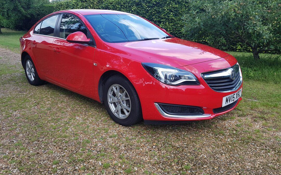 Vauxhall Insignia 2.0 CDTi 140 ecoFLEX Design 2015 6 speed manual, 101,000 miles £4,995