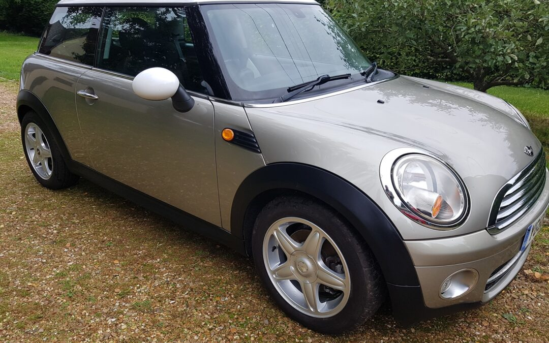 Mini 1.6 Cooper D 2008 (58 plate) 3 owners 6 speed manual. 112,300 miles £2495.